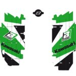 Adesivi Feritoie Radiatore KAWASAKI KXF 250 13-16